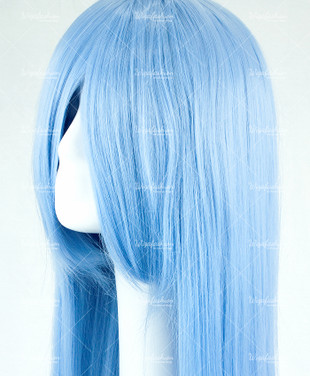 Steel Blue Long Straight 90cm