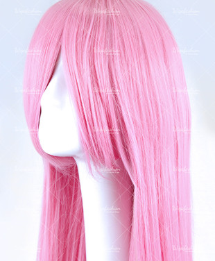 Carnation Pink Long Straight 90cm