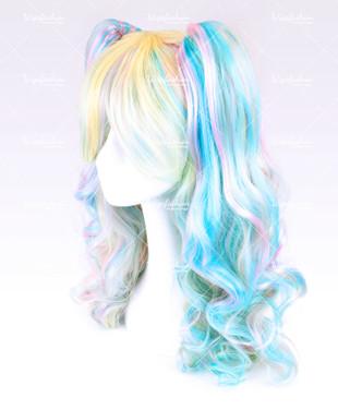 Pastel Rainbow Wavy 60cm