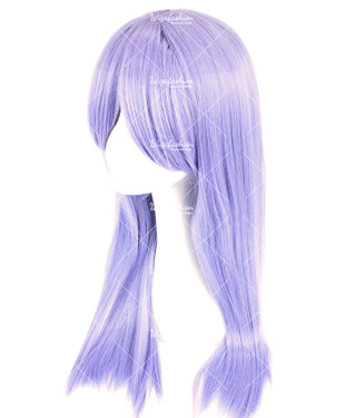 Amethyst Violet Long Straight 70cm