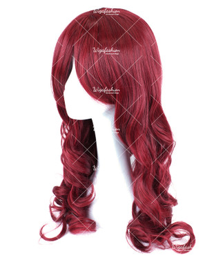 Red Velvet Long Wavy 65cm