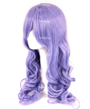 Wisteria Violet Long Curly 65cm