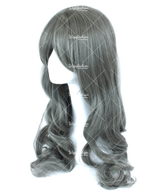 Ash Grey Long Wavy 70cm
