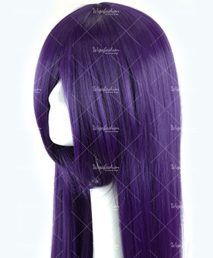 Dark Violet Long Straight 90cm