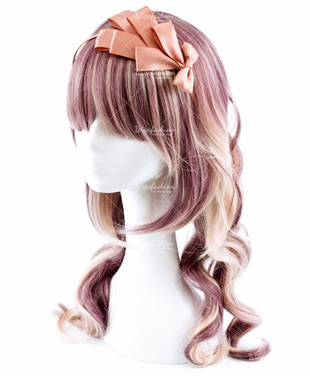 Maroon Red Ash Blonde Big Wavy 55cm