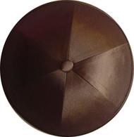 Medium Brown Satin Kippah