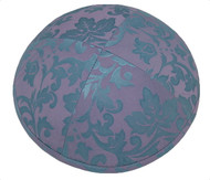 Sapphire Pattern Silk Kippah
