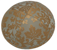 Bronze Pattern Silk Kippah