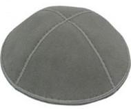Medium Gray Suede Kippah