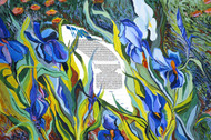 Irises in Bloom Ketubah