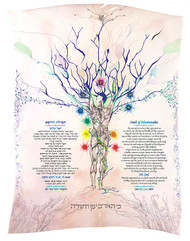 Creation Life Energy Ketubah