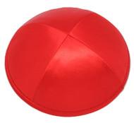 Red Satin Kippah