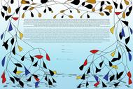 The Floating Collage Ketubah