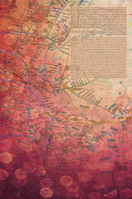 The New York Map Ketubah
