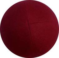 Brick Red Linen Kippah