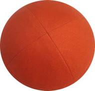 Orange Linen Kippah
