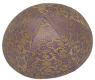 Lavender Beauty Brocade Kippah