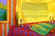Shabbat Lights Ketubah