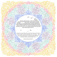 Mojolica Ketubah by Amy Fagin