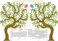Duet Ketubah by Ruth Rudin