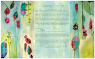 Tender Shoots Ketubah by Chris Cozen