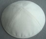 White Corduroy Kippah