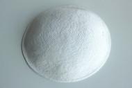White Knit Kippah