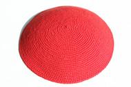 Red Knit Kippah