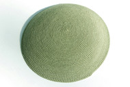 Mint Green Knit Kippah