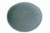 Medium Grey Knit Kippah