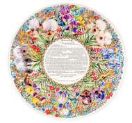 Garden of Eden Papercut Ketubah-Nini