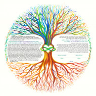 Tree of Life 2 Ketubah by Nava Shoham