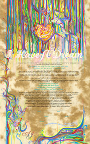 I have a Dream Ketubah by Nava Shoham