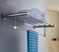 High-grade Stainless Steel Chrome Wall Mounted Towel Bars Rack