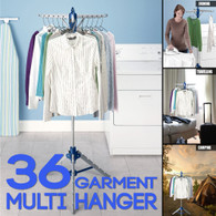 Portable Foldable Dryer Rack Folding Airer Multi Garment Hanger Collapsible Coat Stand Clothes line