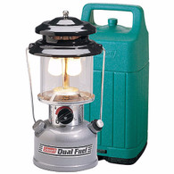 Coleman Premium Dual Fuel Twin Mantle Lantern with Hard Carrying Case