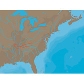 C-MAP NT+ NA-C046 - Cumberland River - C-Card