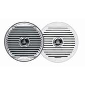 "JENSEN  MSX65R 6.5"" High Performance Coaxial Speaker - (Pair) White/Silver Grills"