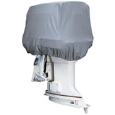 Attwood Road Ready Cotton Heavy-Duty Canvas Cover f/Outboard Motor Hood 50-115HP