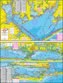 Fishing Map (With GPS) - Hook-N-Line F-108 Matagorda Bay