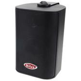 "Boss Audio MR4.3B 4"" 3-Way Marine Enclosed System Box Speakers - 200W - Black"