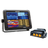 LOWRANCE HDS-12m Chartplotter, SonarHub Module & Insight PRO Map Value Pack