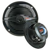 """Boss Audio MR50B 5.25"""" Round Marine Speakers - (Pair) Black"""