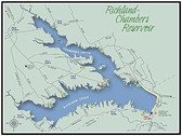 Fishing Hotspots - Hook-N-Line F-114 Richland-Chambers Reservoir