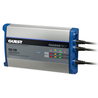 Guest On-Board Battery Charger 20A \/ 12V - 2 Bank - 120V Input