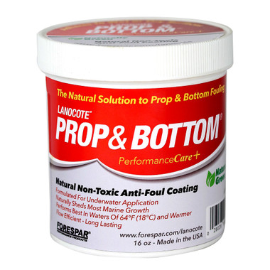 Forespar Lanocote Rust  Corrosion Solution Prop and Bottom - 16 oz.