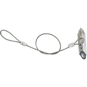 """Duckbill-40 Stakes w/ 15"""" Cable"""