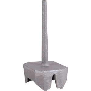 Cast Aluminum Trapper's Pan Cap - Bridger 1.65 Cast Capper