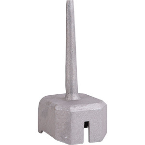 Cast Aluminum Trapper's Pan Cap - Bridger 3 Cast Capper