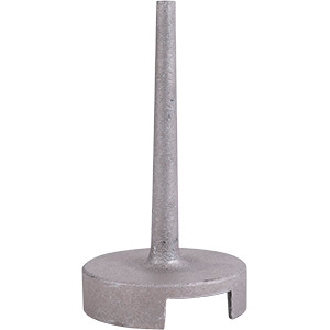 Cast Aluminum Trapper's Pan Cap - MB-550 Cast Capper